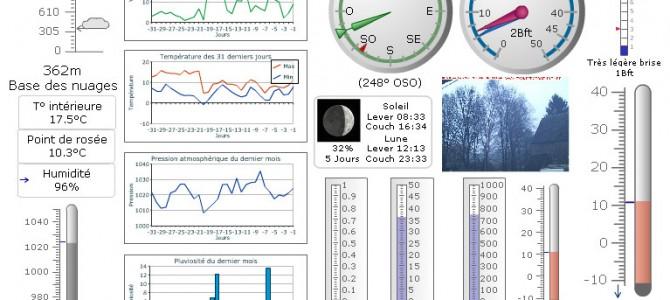 Station météo et webcams de Fraiture-en-Condroz (4557 BELGIQUE)