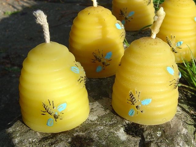 bougie cire abeille