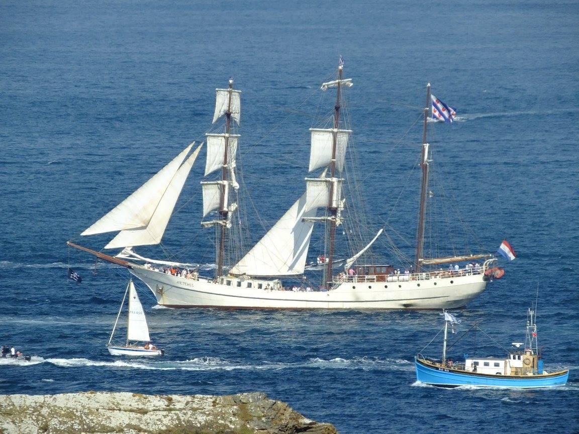 parade maritime Douarnenez
