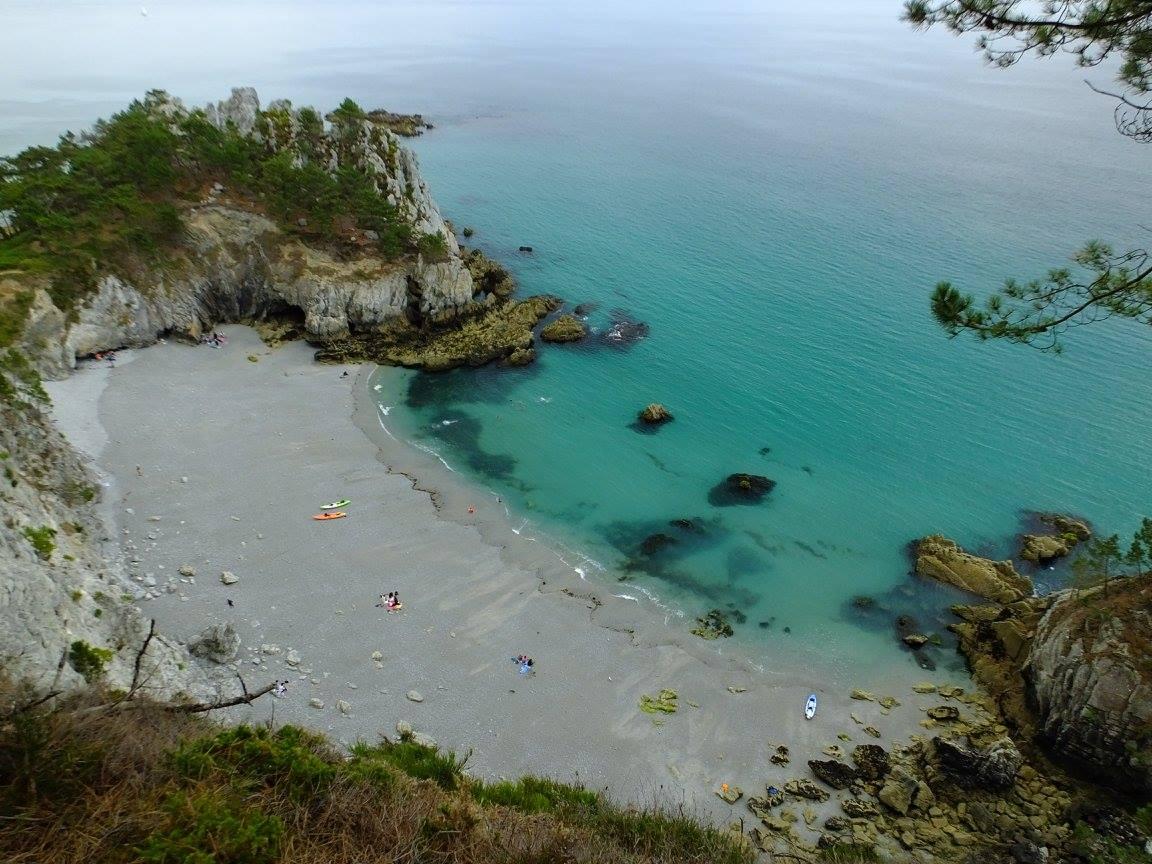 Bretagne crozon ile vierge pointe saint hernot