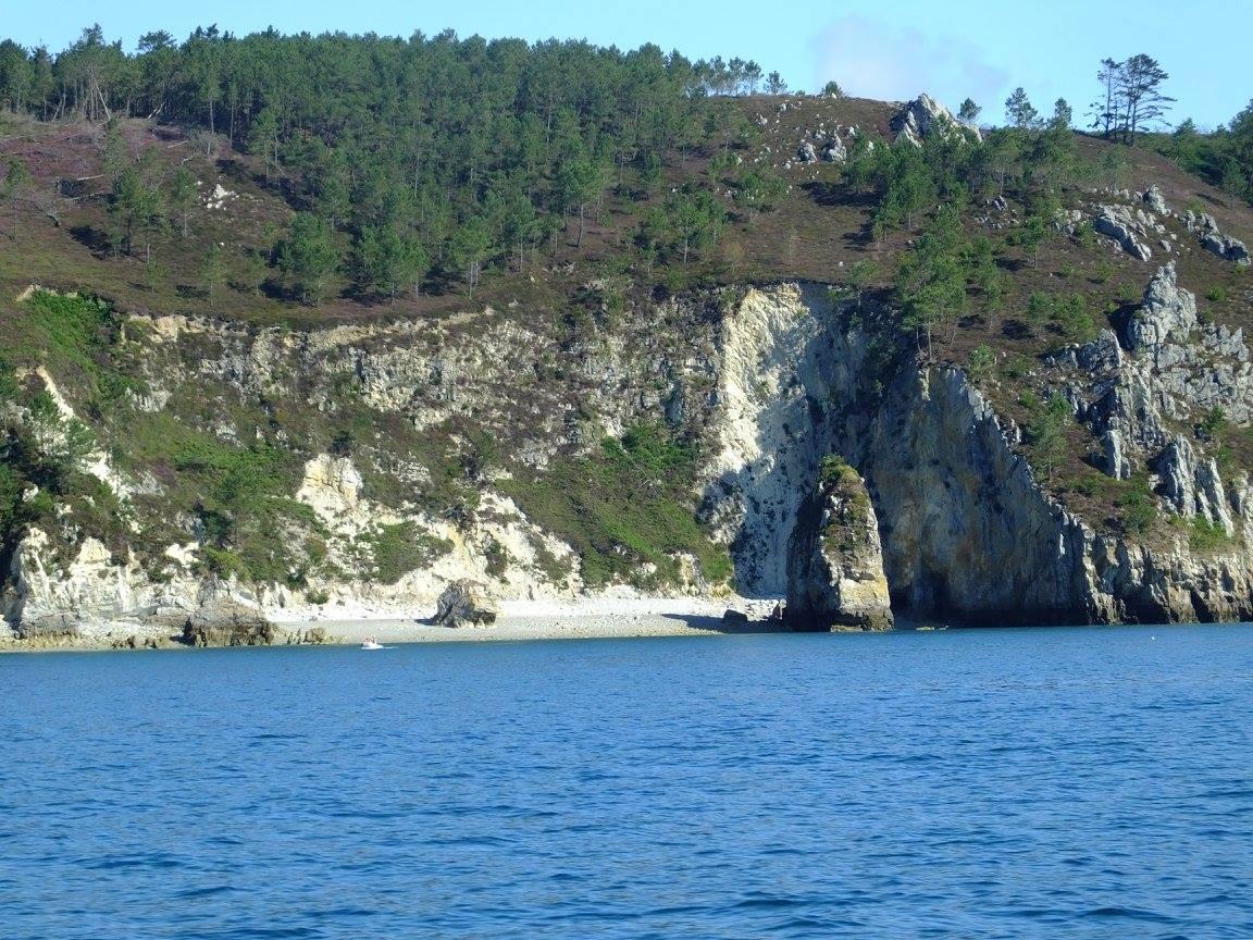 bretagne crozon morgat grotte vedette
