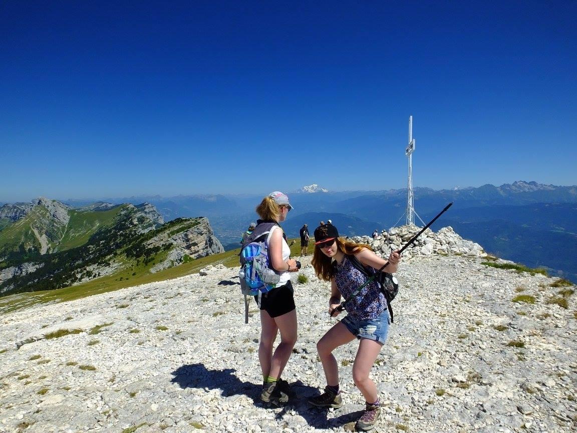 Massif Chartreuse dent de Crolles sommet