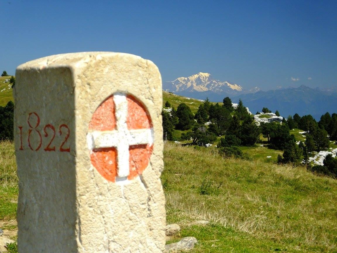 massif chartreuse croix alpe borne mont blanc
