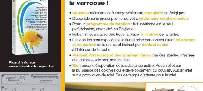 Nouveau médicament contre Varroa