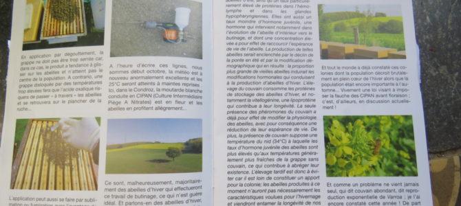 6ème et dernier article pour la revue de l'URRW