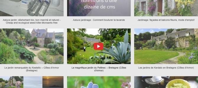 Mes vidéos sur le thème du jardin