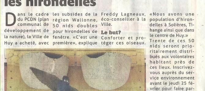 Bravo à la ville de Huy! ;-)
