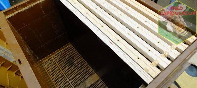 Transformation de ruche Nicot 10c en 2 ruchettes 5c