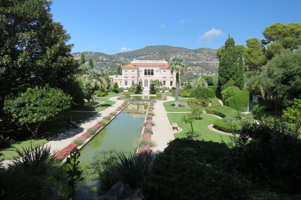 La Villa Ephrussi de Rothschild à  Saint-Jean-Cap-Ferrat